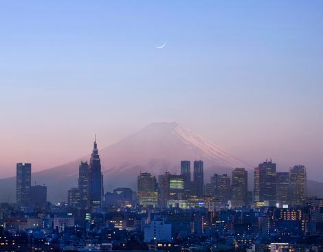 Multiple Exposure「Tokyo skyline.」:スマホ壁紙(19)