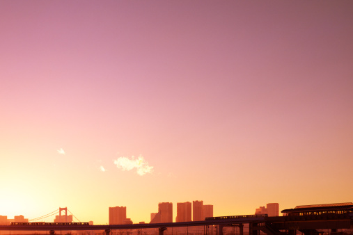 Romantic Sky「Tokyo Skyline at Dusk」:スマホ壁紙(4)