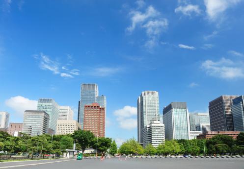 Japanese Culture「Tokyo Skyline」:スマホ壁紙(16)