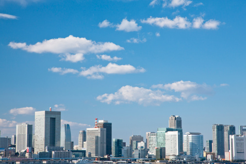 Tokyo Tower「Tokyo Skyline」:スマホ壁紙(1)
