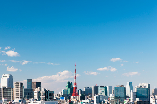 Tokyo Tower「Tokyo Skyline」:スマホ壁紙(16)