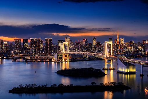 Tokyo - Japan「Tokyo Skyline」:スマホ壁紙(17)