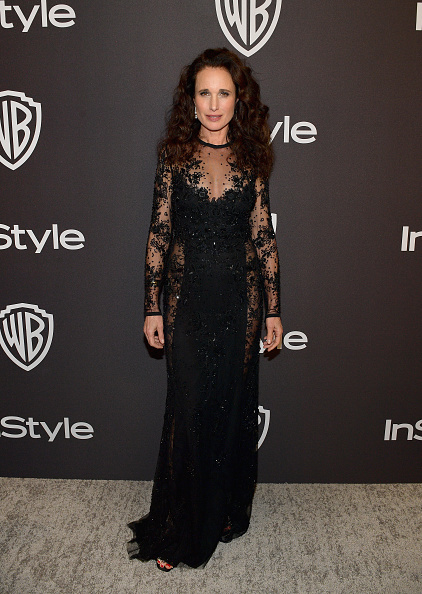 Andie MacDowell「The 2019 InStyle And Warner Bros. 76th Annual Golden Globe Awards Post-Party - Red Carpet」:写真・画像(10)[壁紙.com]