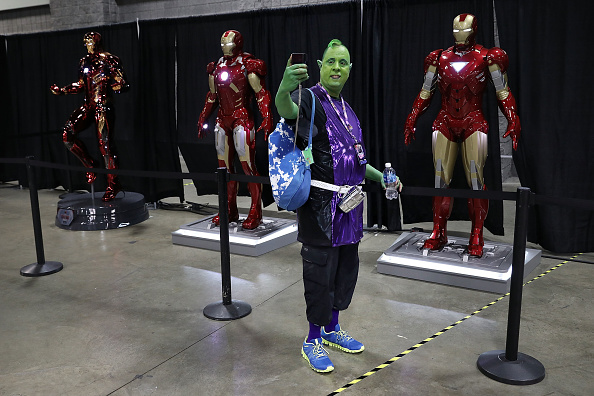 Cosplay「Fans Of Comics And Popular Culture Attend 2017 Washington D.C. Comic Con」:写真・画像(9)[壁紙.com]