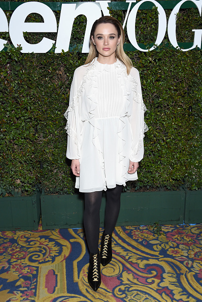 Hunter King「Teen Vogue's Young Hollywood Party, Presented By Snap - Arrivals」:写真・画像(18)[壁紙.com]