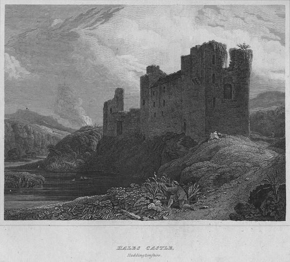 East Lothian「Hales Castle, Haddingtonshire, 1814」:写真・画像(2)[壁紙.com]