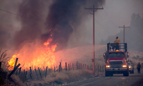 Fire - Natural Phenomenon「Deadly Wildfire Rages In Washington State」:写真・画像(10)[壁紙.com]