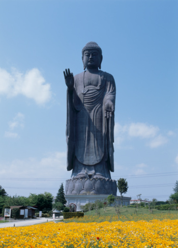 Ibaraki Prefecture「Ushiku Daibutsu, Ushiku, Ibaraki, Japan」:スマホ壁紙(3)