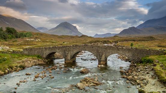 Isle of Skye「Stone bridge near Sligachan, Isle of Skye」:スマホ壁紙(16)
