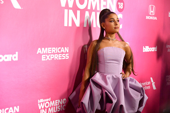 Ariana Grande「Billboard Women In Music 2018 - Arrivals」:写真・画像(4)[壁紙.com]