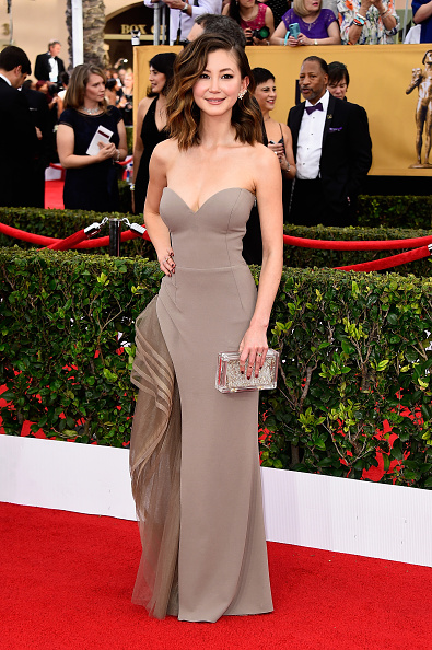Kimiko Glenn「21st Annual Screen Actors Guild Awards - Arrivals」:写真・画像(1)[壁紙.com]