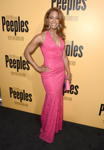 """Form Fitted Dress「Lionsgate Film And Tyler Perry Presents The Premiere Of """"Peeples"""" - Red Carpet」:写真・画像(7)[壁紙.com]"""