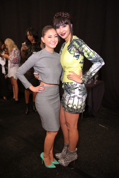 Kimiko Glenn「Nicole Miller - Backstage - Mercedes-Benz Fashion Week Spring 2015」:写真・画像(4)[壁紙.com]