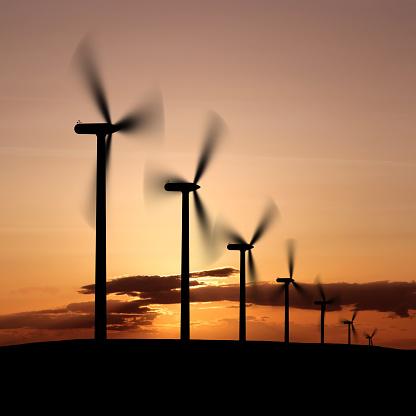 Generator「XXL wind farm sunset」:スマホ壁紙(8)