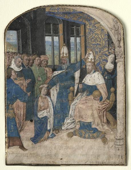 Manuscript「Miniature From A Speculum Historiale: Claudius Designates Nero As His Successor」:写真・画像(7)[壁紙.com]