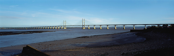 Suspension Bridge「Second Severn Crossing between England and Wales, UK」:写真・画像(19)[壁紙.com]