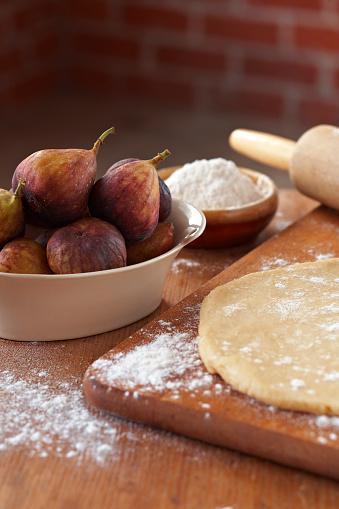 Fig「Fig Tart Ingredients - Vert」:スマホ壁紙(1)