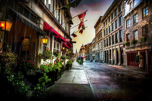 Montreal「Old Montreal - St. Paul Street」:スマホ壁紙(10)