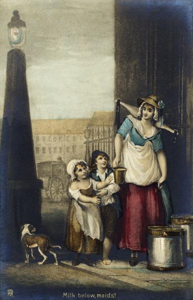 Culture Club「London tradeswoman selling milk 'Milk below, maids!' by Francis Wheatley.」:写真・画像(11)[壁紙.com]