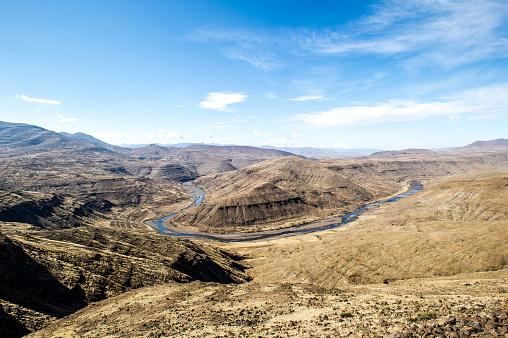 Lesotho「Orange River」:スマホ壁紙(15)
