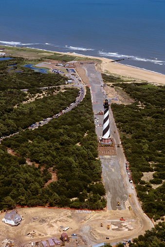 Effort「Moving Cape Hatteras Lighthouse」:スマホ壁紙(10)