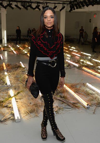 Leather Boot「Rodarte - Front Row - Mercedes-Benz Fashion Week Fall 2015」:写真・画像(18)[壁紙.com]