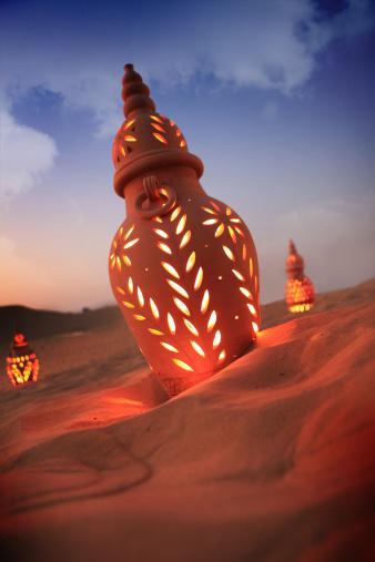 Arabic Style「desert lights」:スマホ壁紙(15)