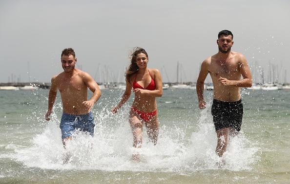 オーストラリア「Melbourne Swelters As City Braces For Hottest Day In A Decade」:写真・画像(5)[壁紙.com]