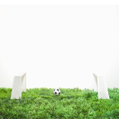 Goal Post「Goals and a ball of soccer.」:スマホ壁紙(16)