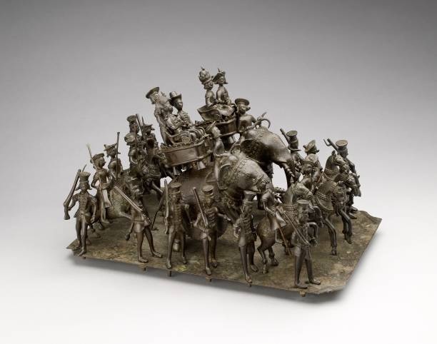 Bronze Model Depicting The Cavalcade Of The King Of Awadh:ニュース(壁紙.com)