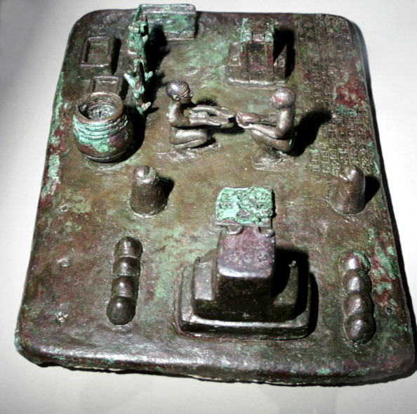 Model - Object「Bronze model of a cult place for ceremony of the rising of the sun, c1150 BC.」:写真・画像(15)[壁紙.com]
