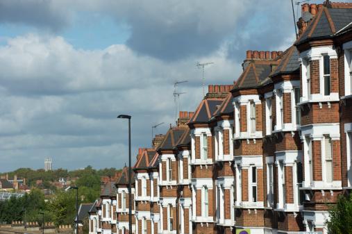 Wandsworth「London terraced housing on a hill」:スマホ壁紙(8)
