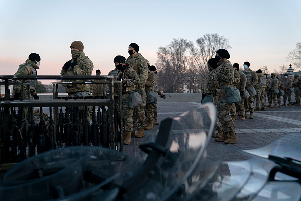 Capitol Hill「Washington, DC Prepares For Potential Unrest Ahead Of Presidential Inauguration」:写真・画像(0)[壁紙.com]