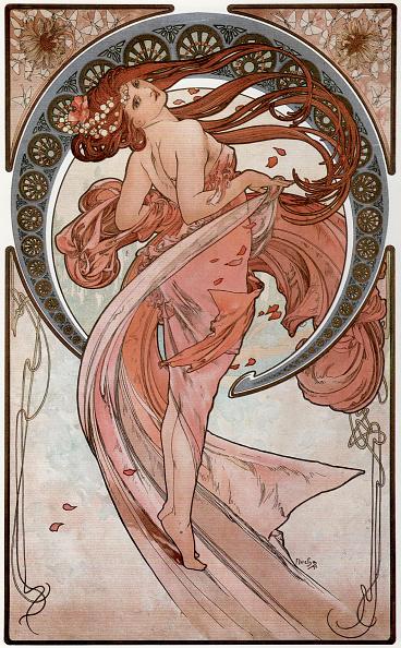 Art Nouveau「Dance (From the series The Arts), 1898」:写真・画像(8)[壁紙.com]