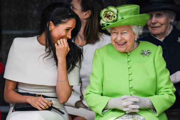 The Duchess Of Sussex Undertakes Her First Official Engagement With  Queen Elizabeth II:ニュース(壁紙.com)
