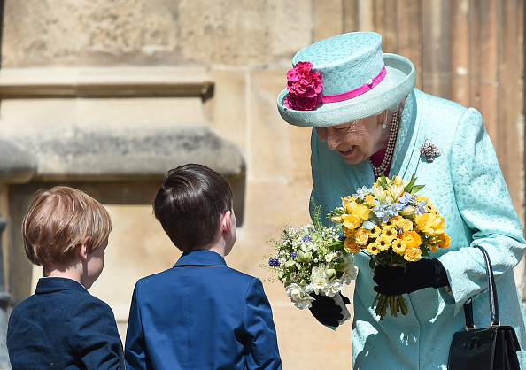 Religious Service「The Royal Family Attend Easter Service At St George's Chapel, Windsor」:写真・画像(8)[壁紙.com]