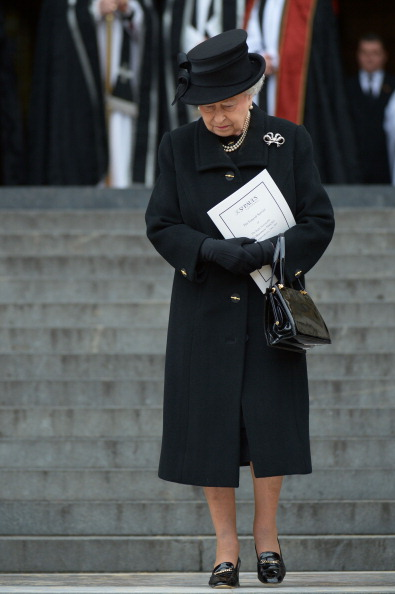 Black Coat「The Ceremonial Funeral Of Former British Prime Minister Baroness Thatcher」:写真・画像(6)[壁紙.com]