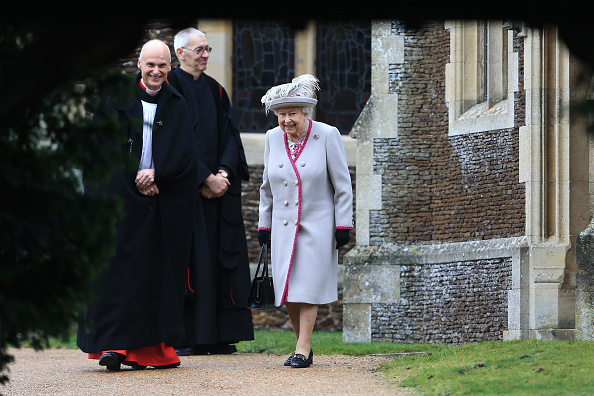 出席する「The Royal Family Attend Church On Christmas Day」:写真・画像(9)[壁紙.com]