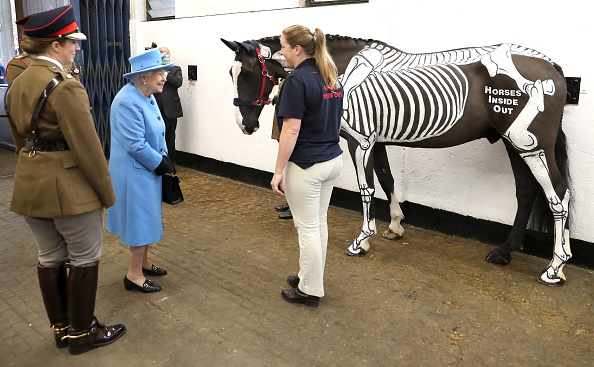 Topix「The Queen & Prince Of Wales Visit The Household Cavalry Mounted Regiment」:写真・画像(6)[壁紙.com]