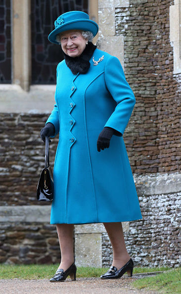 King's Lynn「The Royal Family Attend Christmas Day Service At Sandringham」:写真・画像(17)[壁紙.com]