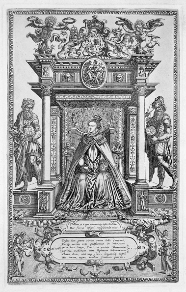 Elizabethan Style「Queen Elizabeth I Of England As Patron Of Geography And Astronomy 1579」:写真・画像(6)[壁紙.com]