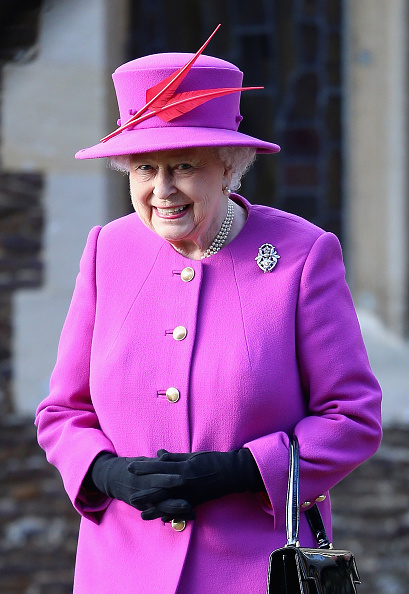 King's Lynn「The Royal Family Attend Church On Christmas Day」:写真・画像(17)[壁紙.com]