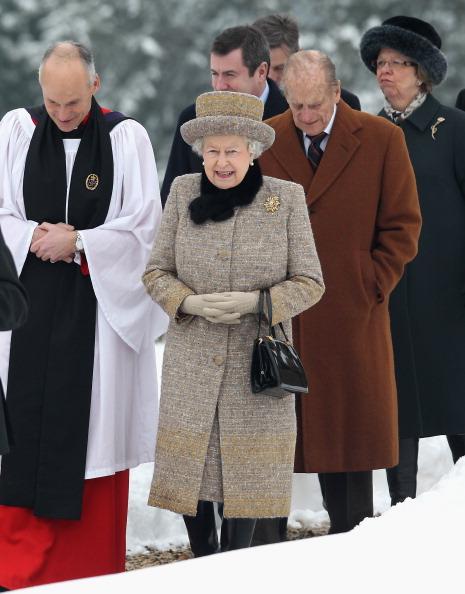 King's Lynn「Queen Elizabeth II And The Duke Of Edinburgh Attend Church」:写真・画像(19)[壁紙.com]