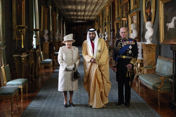 United Arab Emirates「Queen Elizabeth II Hosts A Lunch For The State Visit Of The President Of The United Arab Emirates」:写真・画像(6)[壁紙.com]