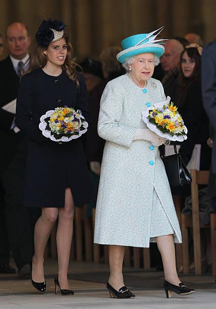 Queen Elizabeth II Visits York For The Royal Maundy Service:ニュース(壁紙.com)