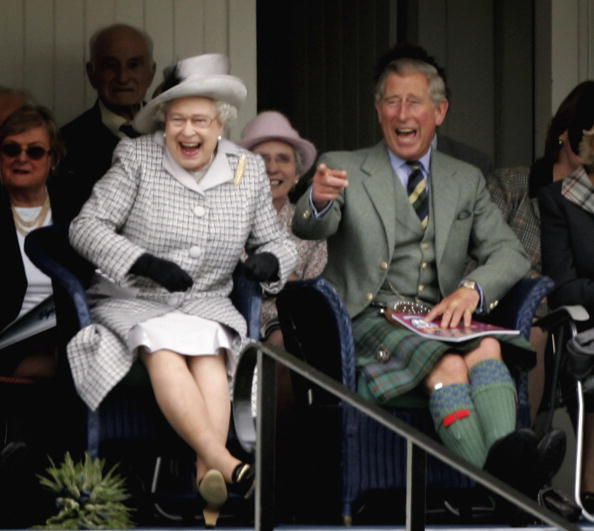 Laughing「Braemar Highland Gathering」:写真・画像(4)[壁紙.com]