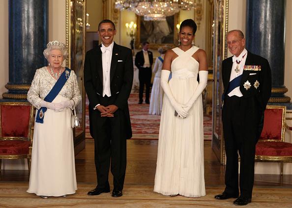 Buckingham Palace「US President Barack Obama Visits The UK - Day One」:写真・画像(18)[壁紙.com]