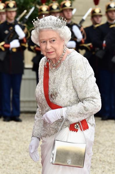 Dinner「Queen Elizabeth II On Official Visit In Paris : Day Two」:写真・画像(12)[壁紙.com]