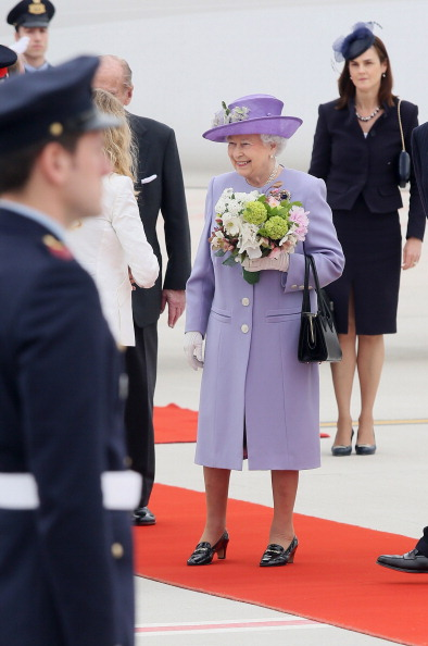 Bouquet「The Queen And Duke Of Edinburgh Visit Rome And The Vatican City」:写真・画像(10)[壁紙.com]