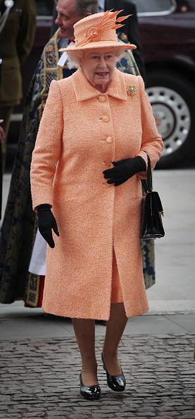 全身「Queen Elizabeth II Attends Commonwealth Observance Service At Westminster Abbey」:写真・画像(1)[壁紙.com]